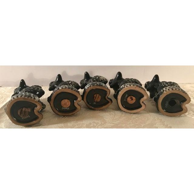 Black Black Poodle Shakers - Set of 5 For Sale - Image 8 of 10
