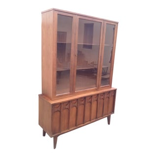 Kent Coffey Perspecta Collection Buffet Hutch For Sale