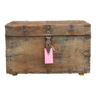 19th Century Spanish Colonial Merchant Box For Sale