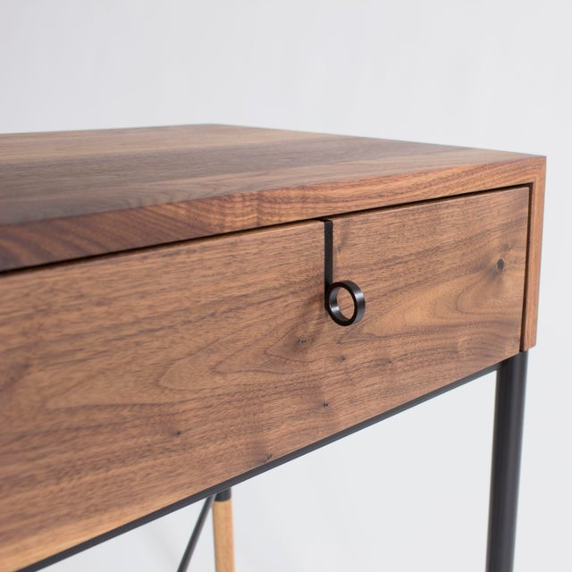 Not Yet Made - Made To Order Phillip Nightstand and Side Table For Sale - Image 5 of 11
