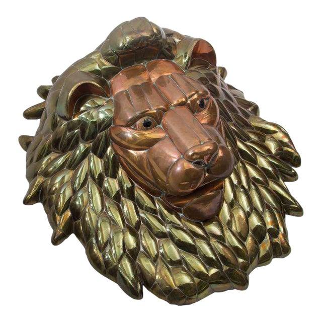 1980s Sergio Bustamante Lion Head - Image 1 of 5