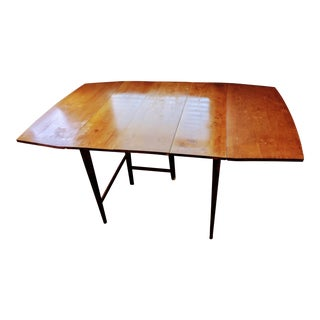 Mid-Century Paul McCobb Planner Group Drop Leaf Dining Table For Sale