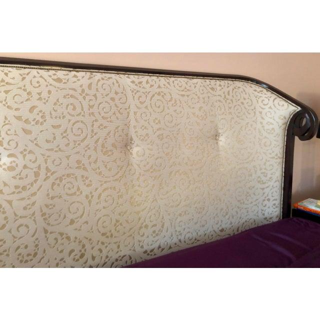 2010s Christopher Guy Upholstered King Headboard For Sale - Image 5 of 8