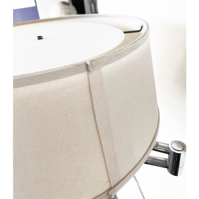Walter Von Nessen Chrome Floor Lamp For Sale - Image 11 of 11