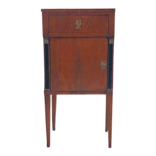 1810s Neoclassical Bedside Cabinet For Sale