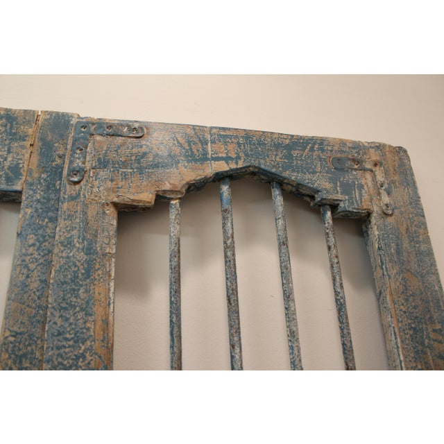 Reclaimed Architectural Wrought Iron Doors - A Pair - Image 10 of 11