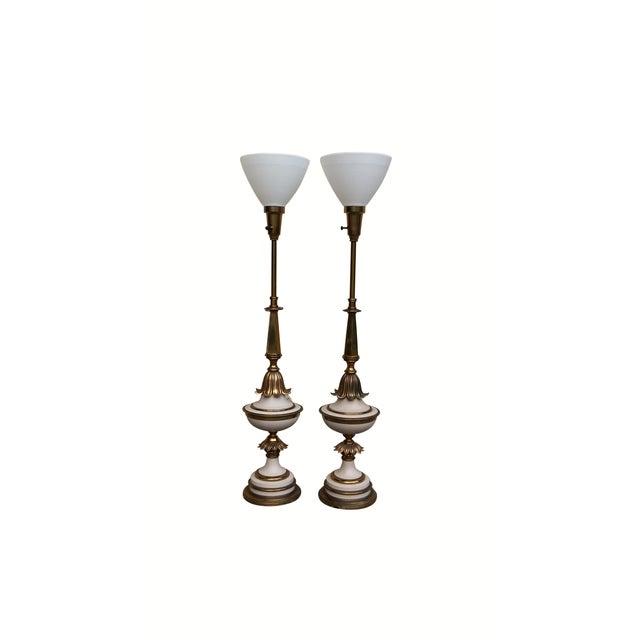 Art Deco Lamps - Pair - Image 2 of 9