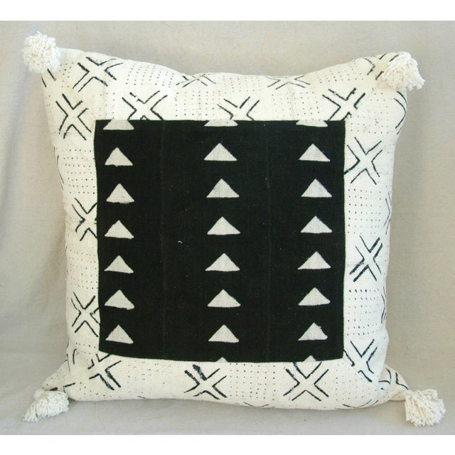 Handwoven African Tribal Textile Pillows - Pair - Image 4 of 10