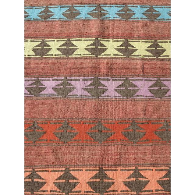 "Vintage Anatolian Handmade Kilim Runner-3'x11'4"" For Sale - Image 6 of 13"