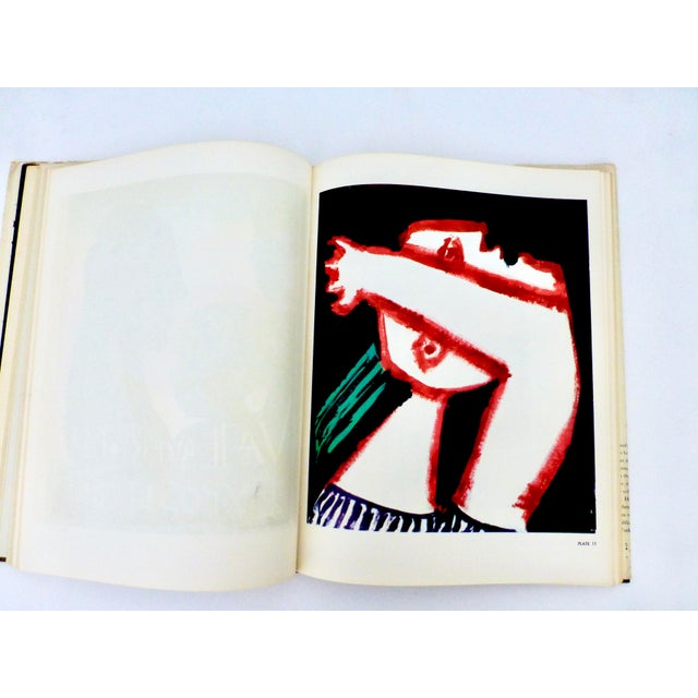 Paper 1964 Book, The Posters of Picasso, Illustrated For Sale - Image 7 of 13