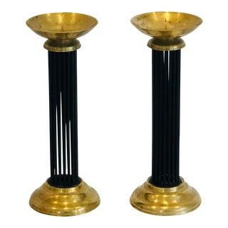 Vintage Brass Candlesticks For Sale