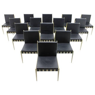 60x Egon Eiermann Dining Room Chairs Se 121 by Wilde & Spieth, Germany 1964 For Sale