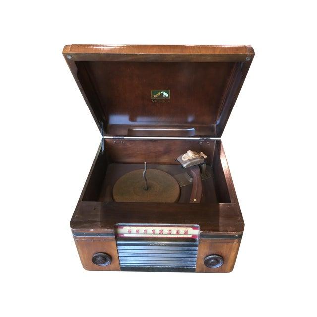 1940's Rca Victor Victrola Radio Record Player - Image 1 of 11
