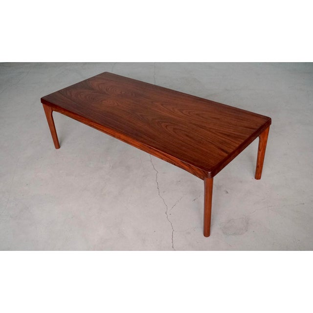 Danish Modern Mid-Century Danish Modern Rosewood Coffee Table For Sale - Image 3 of 12