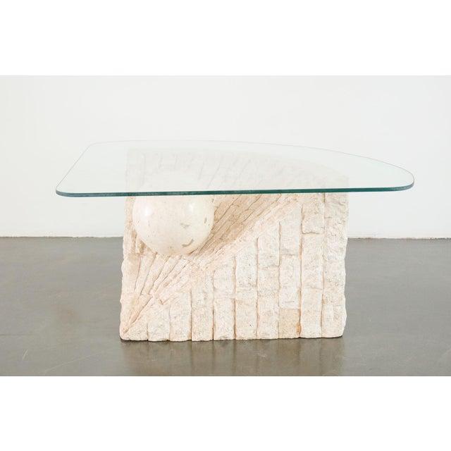 Awe Inspiring 20Th Century Modern Magnussen Ponte Stone Coffee Table Ncnpc Chair Design For Home Ncnpcorg