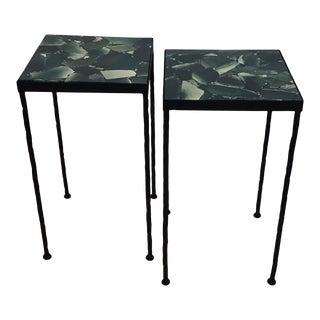 "Marjorie Skouras ""Toby Tables"" - a Pair For Sale"