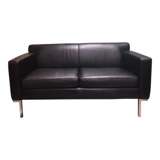 Design Within Reach by American Leather Ted Boerner Theatre Two-Seat Sofa