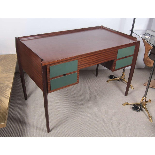 1950s Italian Desk attributed to Gio Ponti For Sale In New York - Image 6 of 9