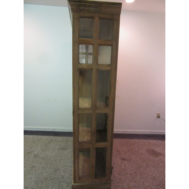Large French Country Open-Front Cupboard For Sale - Image 4 of 10