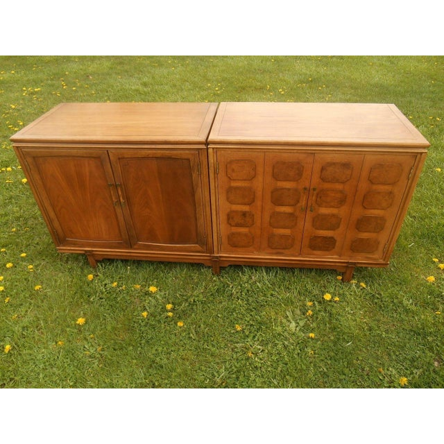 Thomasville Mid-Century Modern Floating Credenza - Image 3 of 7