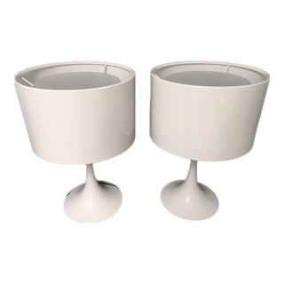 Flos 2 Spun Lamps - A Pair For Sale