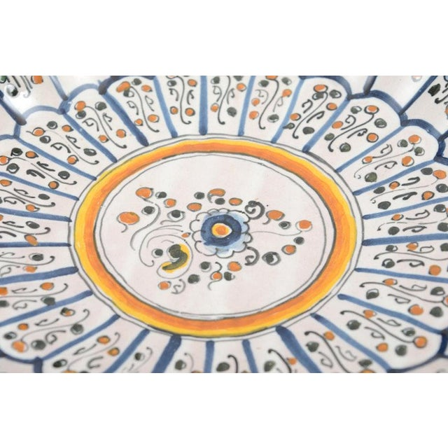 Vintage Talavera Vintage Plates - Set of 8 For Sale - Image 4 of 12