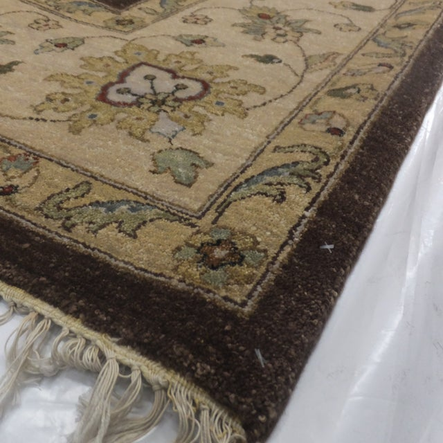"Brown Zeigler Carpet -- 9'2"" x 12'5"" For Sale - Image 5 of 5"