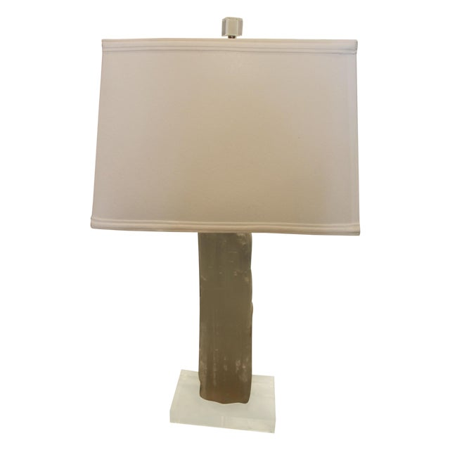 Satin Spur Table Lamp For Sale - Image 10 of 10