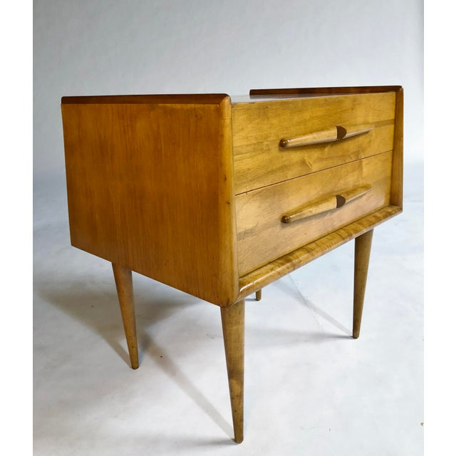 Birch Edmond Spence Nightstands For Sale - Image 7 of 11