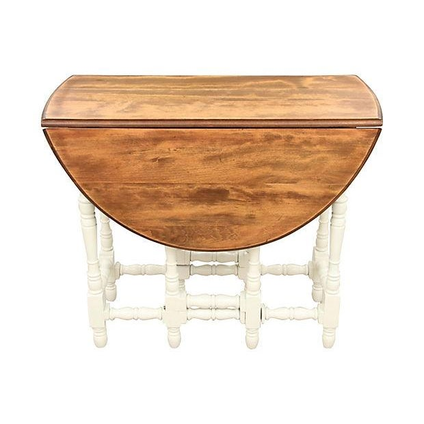 Queen Anne-Style Gateleg Table - Image 2 of 7