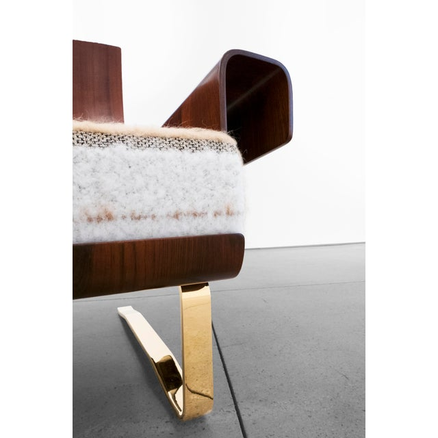 Mid-Century Cantilever Lounge Chair For Sale - Image 4 of 11