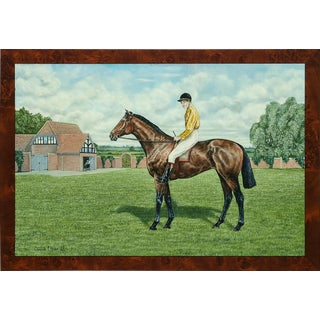 """""""Ormonde- Fred Archer Up"""" Oil Painting For Sale"""