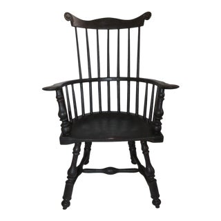 20th Century Butterfly Windsor Chair For Sale