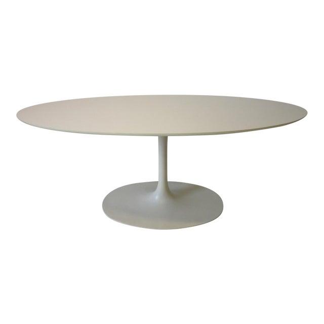 Burke Tulip Desk / Dining Table for Burke International For Sale