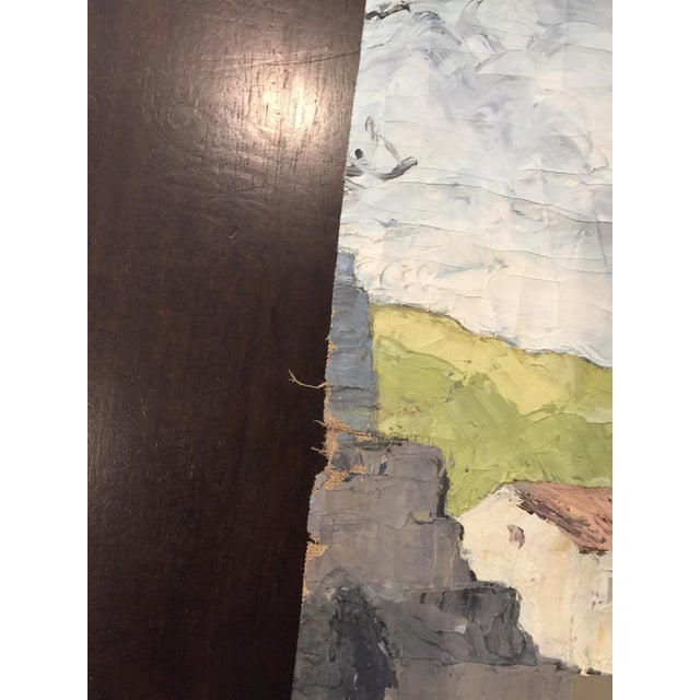 Vintage French impressionistic Fragment Painting - Image 3 of 3