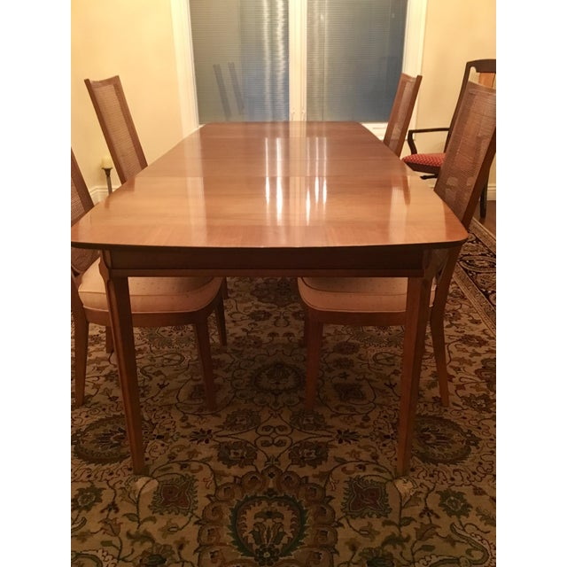 Drexel Heritage Dining Room Set With Four Chairs | Chairish