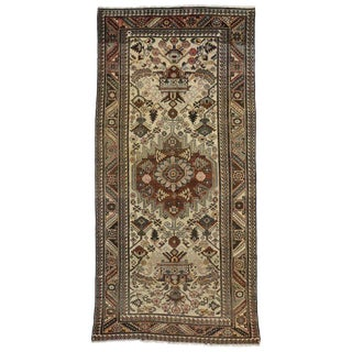 20th Century Persian Bakhtiari Gallery Rug - 5′ × 10′4″ For Sale