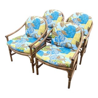 Vintage Brown Jordan Dining Chairs - Set of Four For Sale