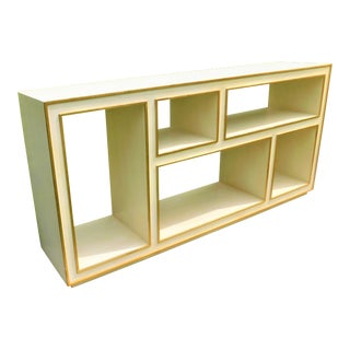 Modern History Furniture Horizontal Abstract Bookcase For Sale