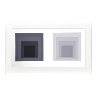 Josef Albers - Portfolio 1, Folder 23, Image 1 Framed Silkscreen For Sale