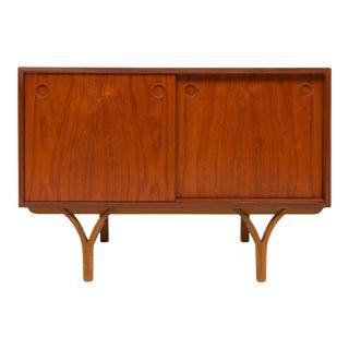 Vintage Danish Mid-Century Teak Storage/Media Cabinet For Sale