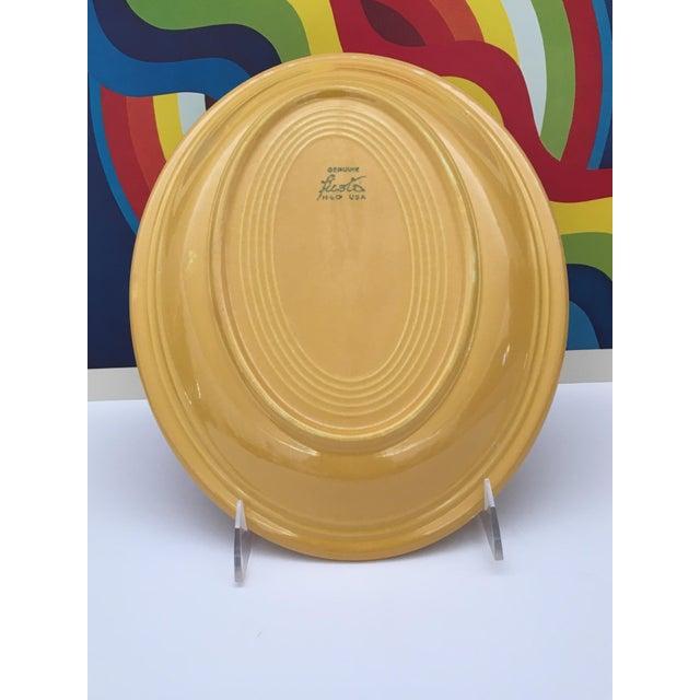Ceramic Vintage Mid-Century Fiesta Fiestaware Platters - Set of 3 For Sale - Image 7 of 10