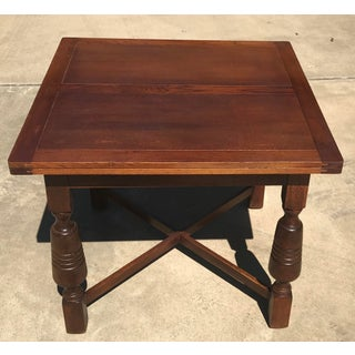 Early 20th Century Vintage Draw Leaf Dining Table Preview
