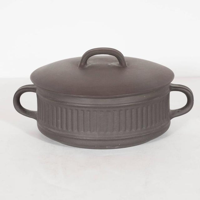 Gray Mid-Century Dessert and Coffee Service, Jens Harald Quistgaard for Dansk For Sale - Image 8 of 10