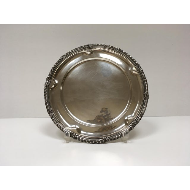 1950s Sanborn Sterling Silver Charger - Image 2 of 5