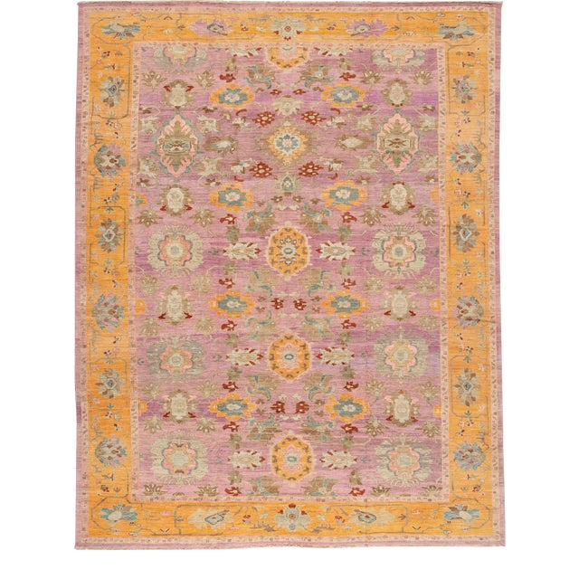 21st Century Modern Rug 12 X 16 For Sale