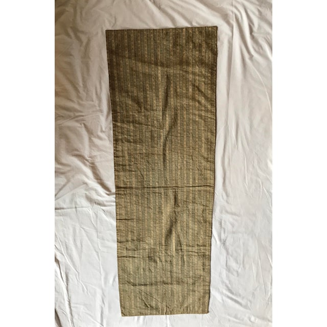 Chinese Embroidered Silk Textile-Runner For Sale - Image 11 of 12