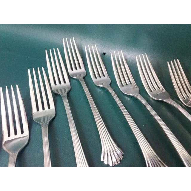 Vintage Wallace 'Tiara' Flatware, Service for 12 For Sale - Image 11 of 13