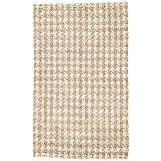 Jaipur Living Tracie Natural Geometric Area Rug - 10′ × 14′ For Sale