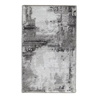 Abstract Area Rug Gray - 5'3'' x 7'7''